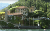 Perillo Tours Italy North Classic Tour features Italy's famous Villa del Balbianello from the vantage point of Lake Como as seen by a tourist on a Classic North Italy tour escorted by Perillo Tours (video production by Merging Media).