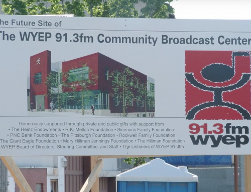 WYEP: Birth of a Building Fast Photo Movie