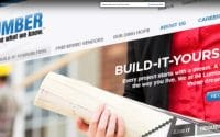 84 Lumber Consumer TV Commercial thumbnail is a screen shot of 84 Lumber website, Build-It-Yourself page is selected and the words on the screen read; Every Project Starts with a dream (video produced by Merging Media).