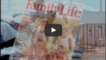 USWeb USAPubs.com Marketing Video features a cover of FamilyLife magazine used as an example of publication to be available on USAPubs.com.