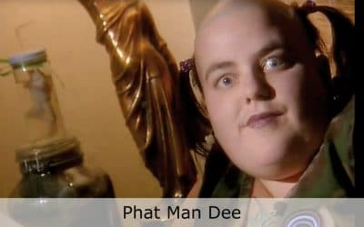 Club Cafe Phat Man Dee video thumbnail jazz vocal artist, Phat Man Dee, known for her larger than life attire, stage presence and even larger voice, performs on the Club Cafe stage in Pittsburgh, Pennsylvania (video production by Merging Media).