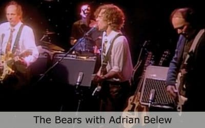 Club Cafe The Bears features musical artist, The Bears, with guitar guru Adrian Belew performing on the stage at Pittsburgh, Pennsylvania's Club Cafe (video production by Merging Media).
